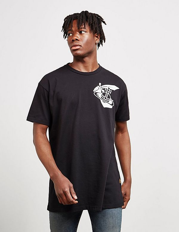 Vivienne Westwood Anglomania Large Orb Short Sleeve T-Shirt