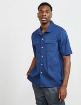 Albam Reverse Collar Short Sleeve Shirt