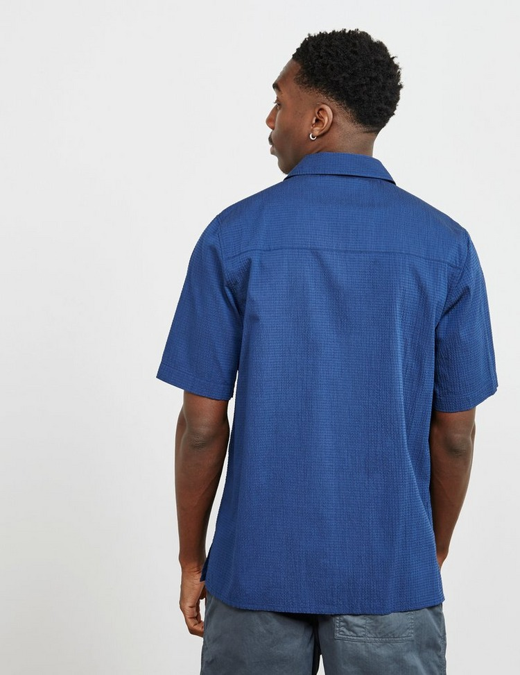 Albam Reverse Collar Short Sleeve Shirt