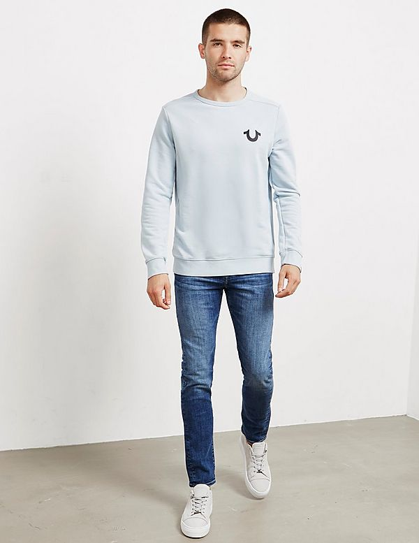 True Religion Reflective Sweatshirt