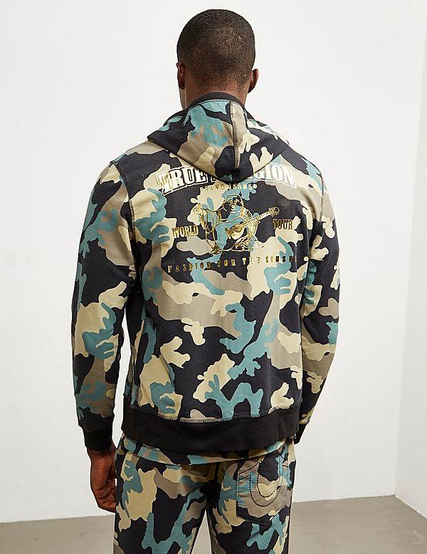 True Religion Camouflage Hoodie