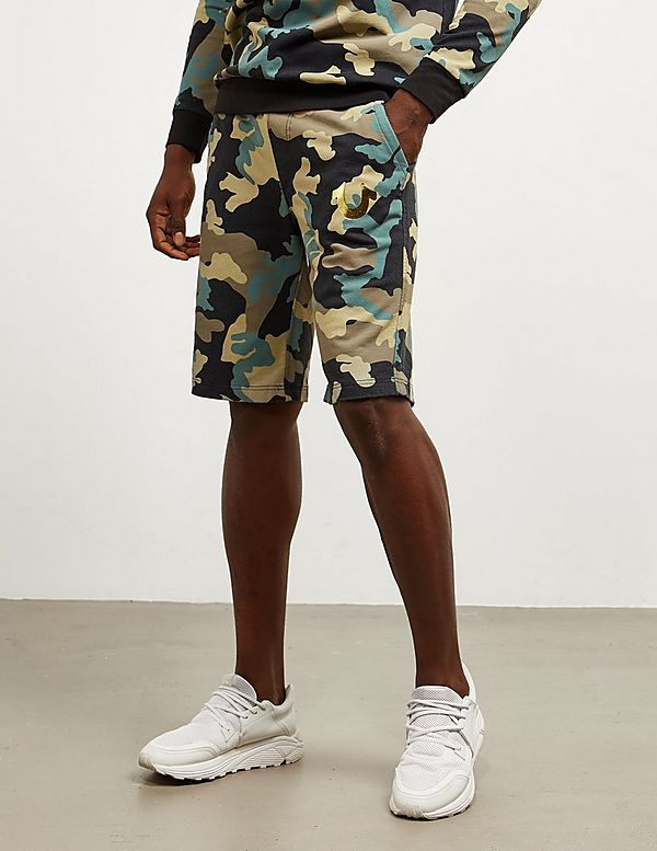 True Religion Camouflage Shorts
