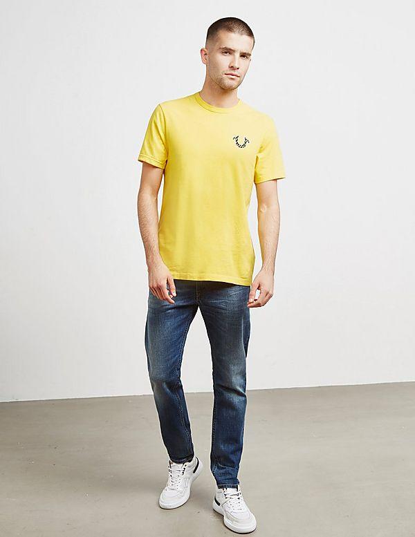 True Religion Zig Zag Buddha Short Sleeve T-Shirt