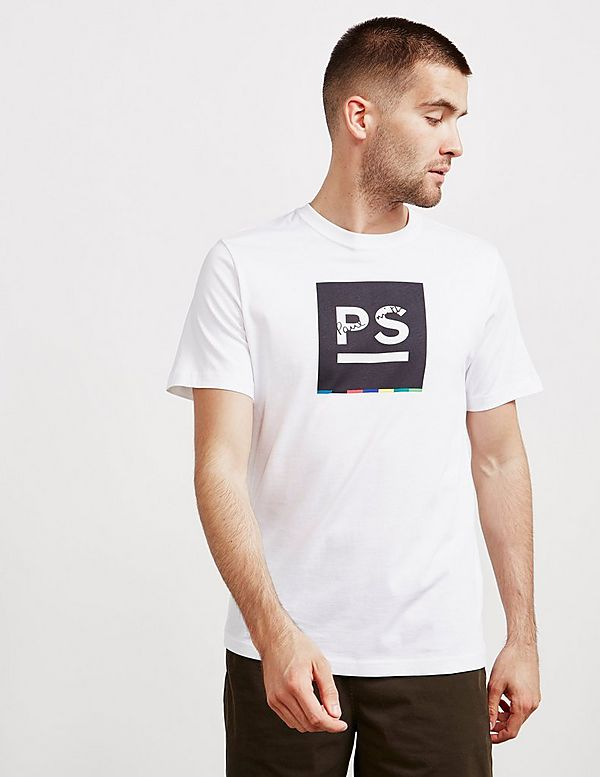 PS Paul Smith Underline Short Sleeve T-Shirt