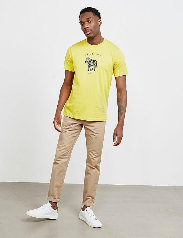 PS Paul Smith Aloha Zebra Short Sleeve T-Shirt