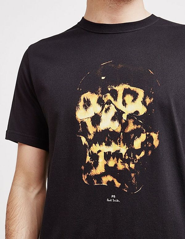 PS Paul Smith Fire Skull Short Sleeve T-Shirt