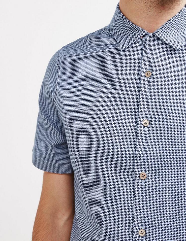 PS Paul Smith Micro Check Short Sleeve Shirt