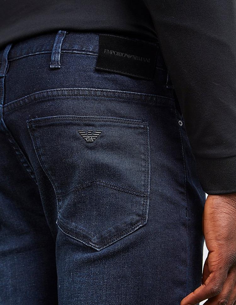 Emporio Armani J06 Slim Distressed Jeans