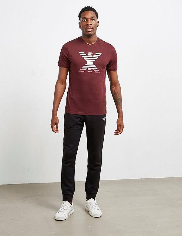 Emporio Armani Mirror Eagle Short Sleeve T-Shirt