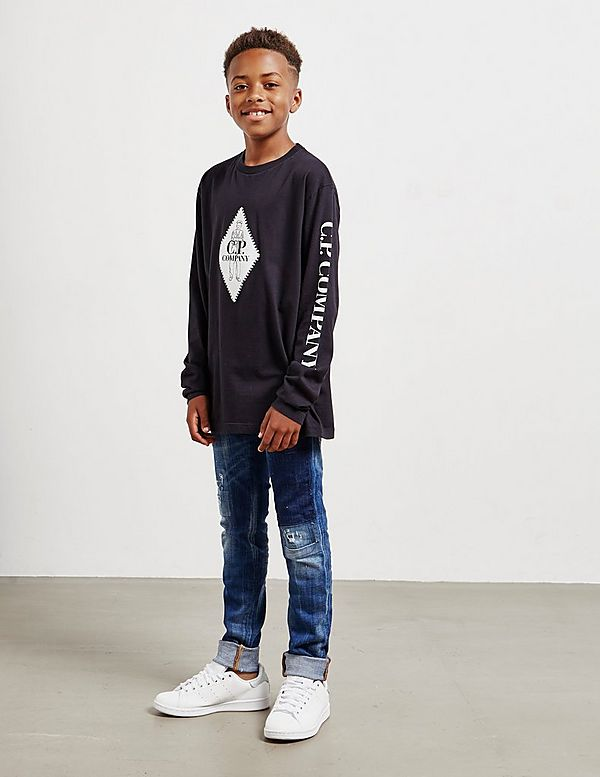 CP Company Logo Long Sleeve T-Shirt