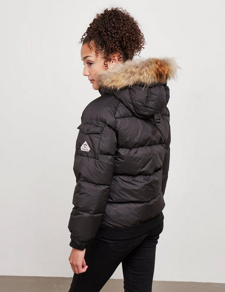 Pyrenex Girl's Aviator Fur Coat