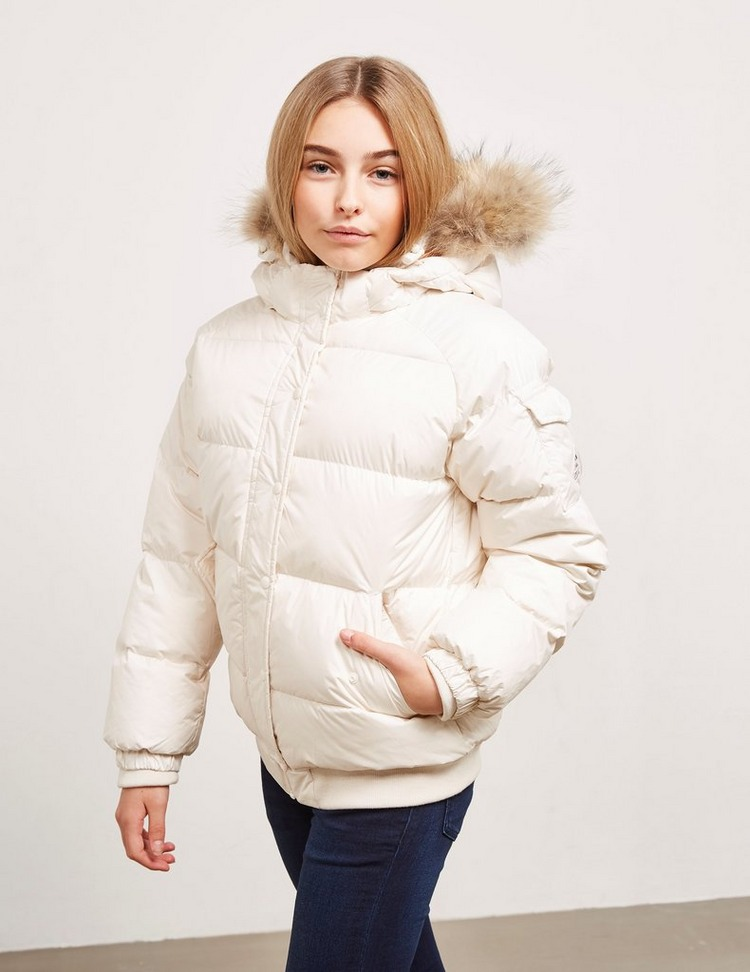 Pyrenex Girl's Aviator Fur Coat
