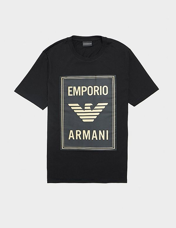 Emporio Armani Large Label Short Sleeve T-Shirt