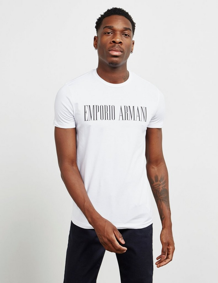 Emporio Armani Icon Logo Short Sleeve T-Shirt