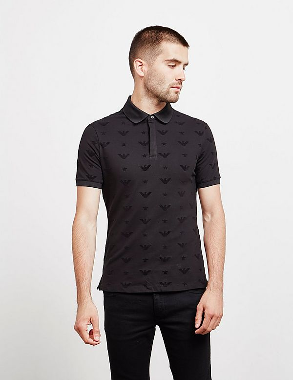 Emporio Armani Eagle Short Sleeve Polo