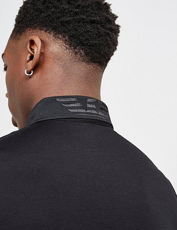 Emporio Armani Hex Logo Short Sleeve Polo Shirt