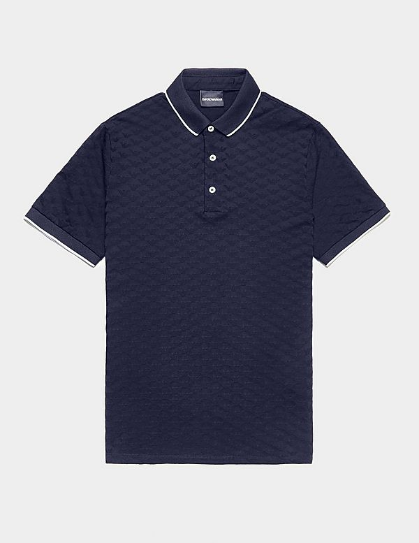 Emporio Armani Eagle Short Sleeve Polo Shirt