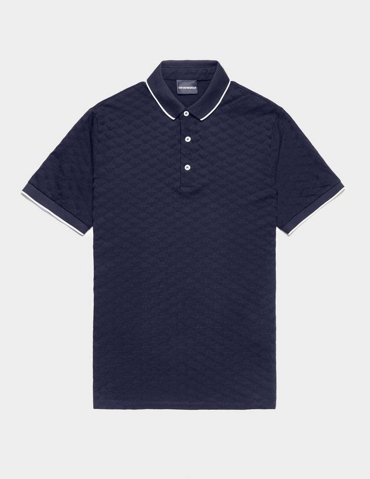 Emporio Armani Eagle Short Sleeve Polo Shirt