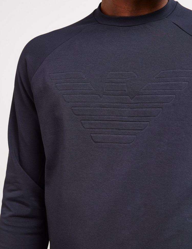 Emporio Armani Tonal Eagle Crew Sweatshirt