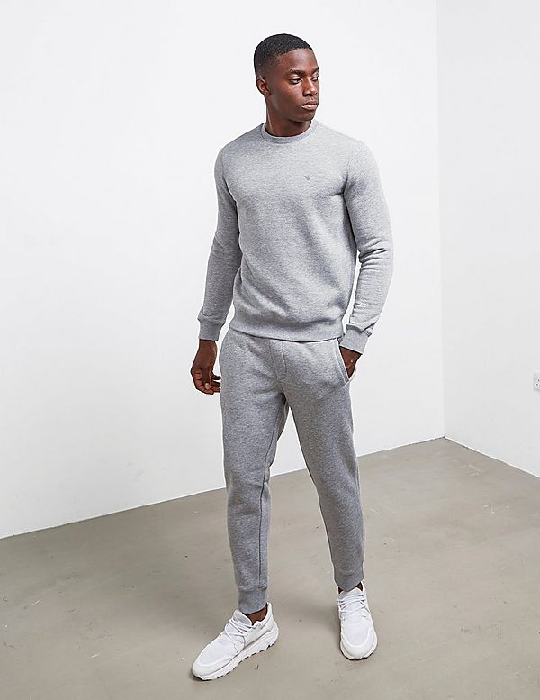 Emporio Armani Basic Fleece Cuff Pants