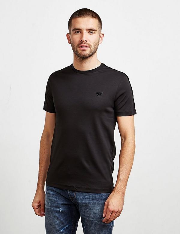 Emporio Armani Velour Tape Short Sleeve T-Shirt
