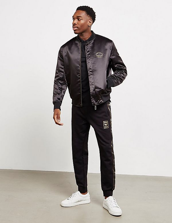 Emporio Armani All Over Print Reversible Bomber Jacket