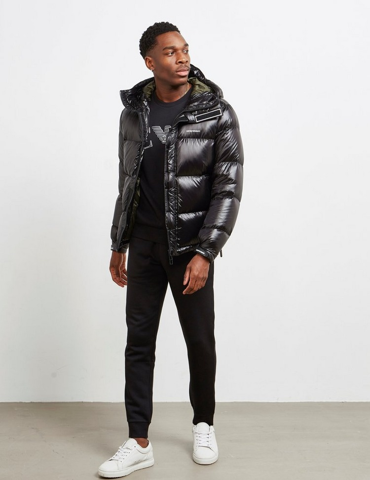 Emporio Armani Luxe Down Hooded Jacket