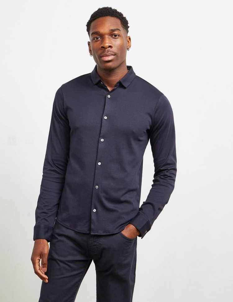 Emporio Armani Merc Jersey Long Sleeve Shirt
