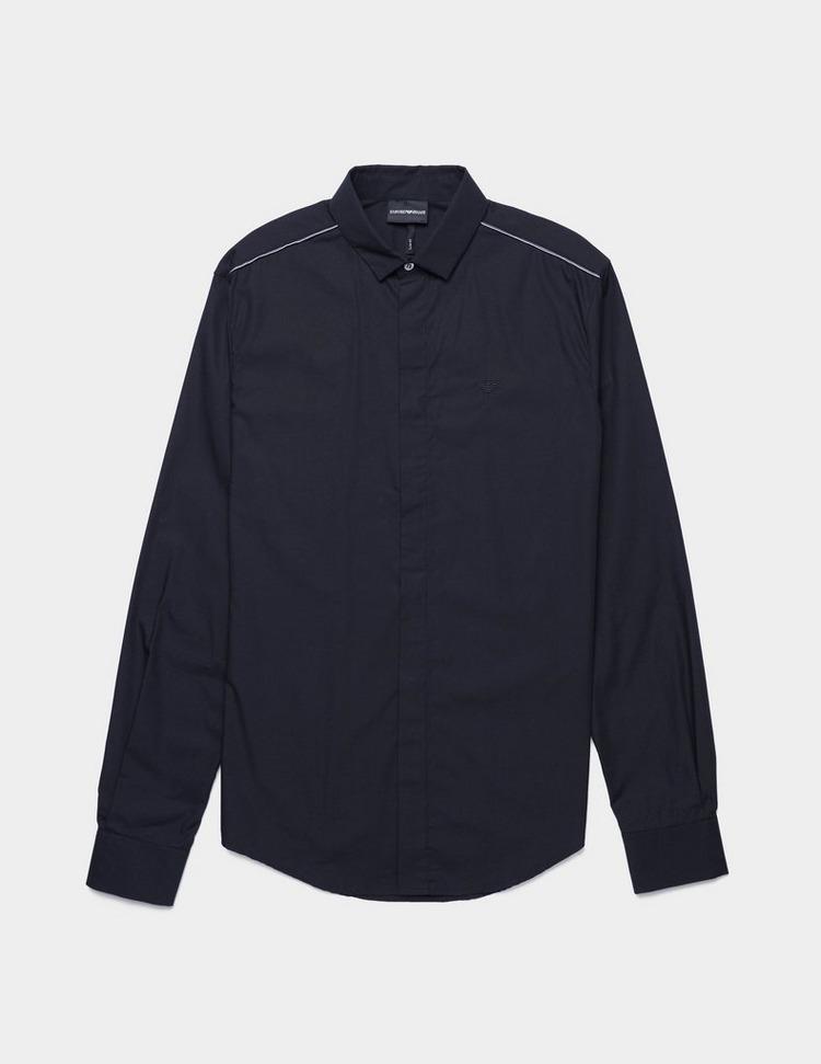 Emporio Armani Tip Shoulder Long Sleeve Shirt