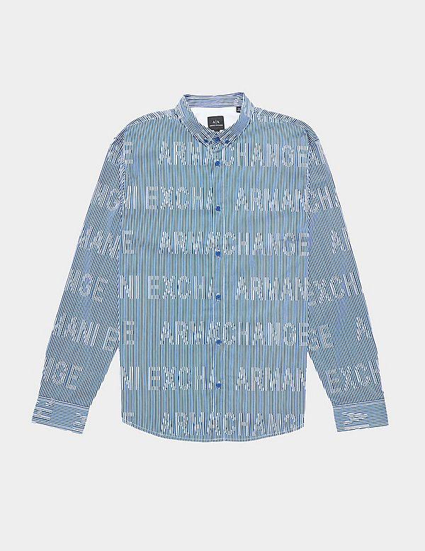 Armani Exchange Stretch Long Sleeve Shirt