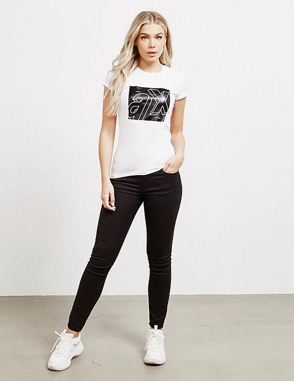 Armani Exchange 3D Box Short Sleeve T-Shirt