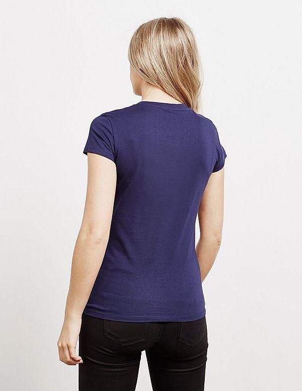 Armani Exchange Round Logo Short Sleeve T-Shirt