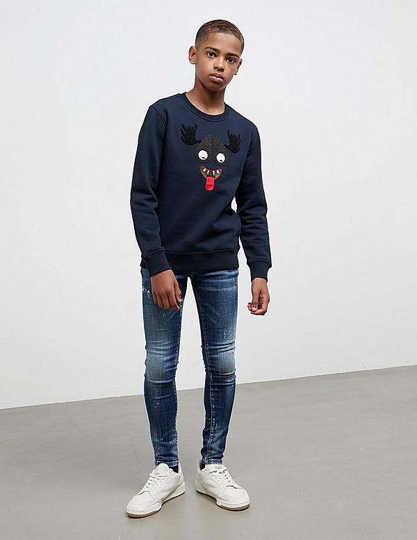 Moose Knuckles Boy's Haha Sweatshirt