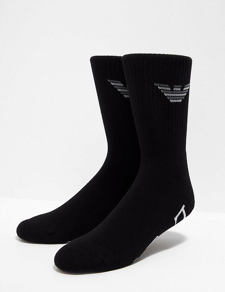 Emporio Armani 2 Pack Eagle Socks