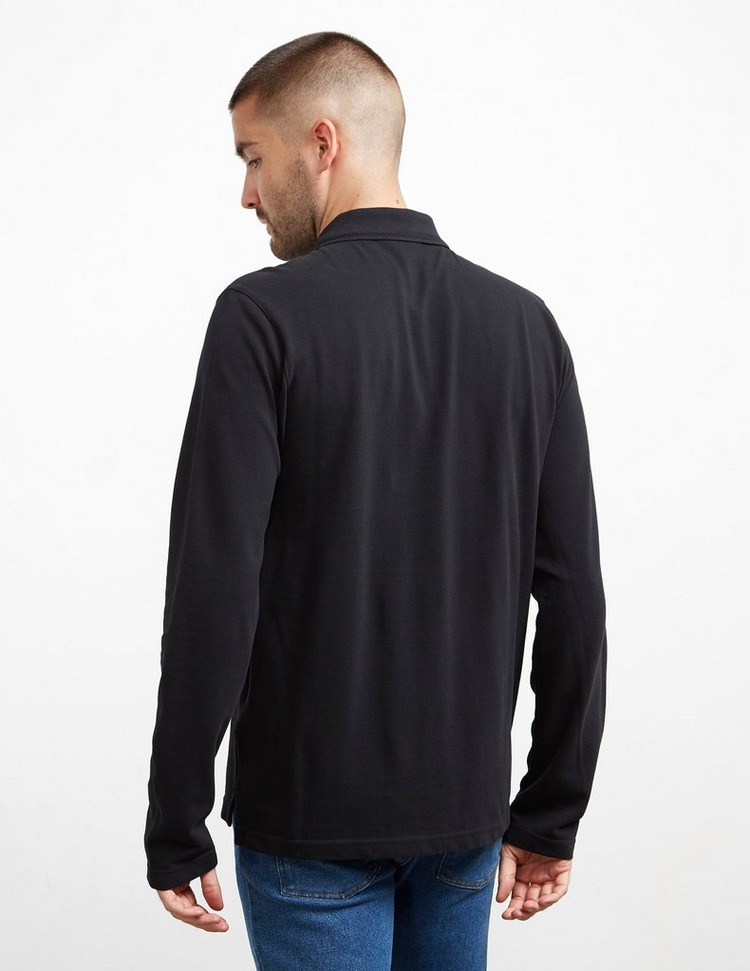 Belstaff Embroidered Long Sleeve Polo Shirt