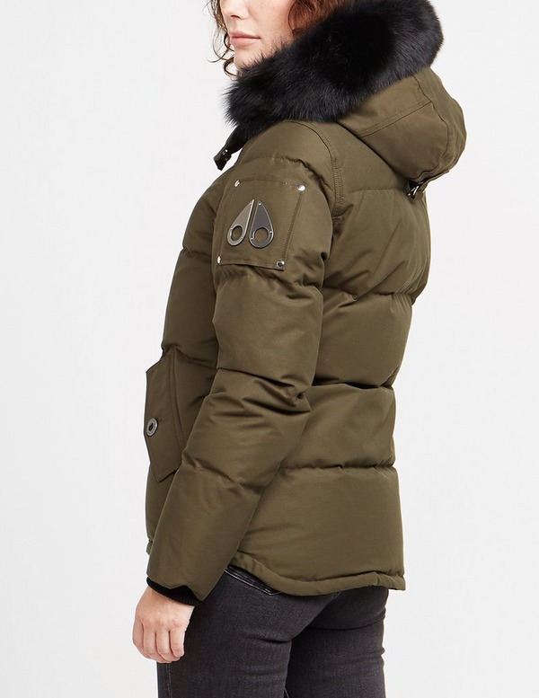 Moose Knuckles 3Q Fur Hooded Jacket