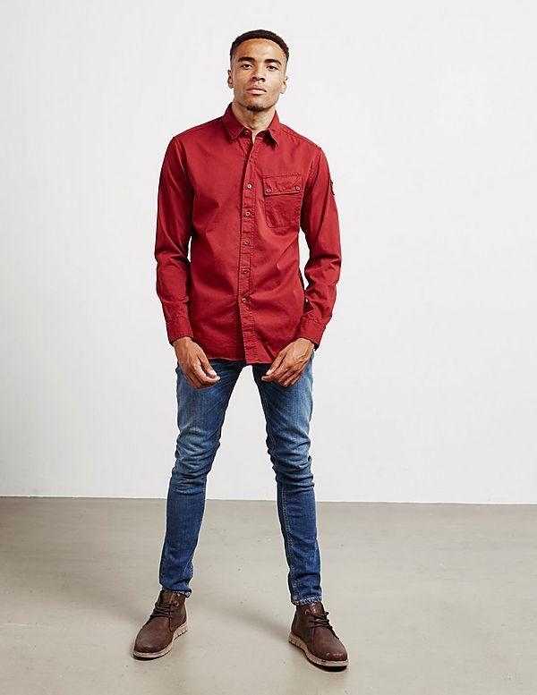 Belstaff Patch Long Sleeve Shirt