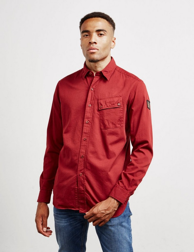 Belstaff Patch Long Sleeve Shirt