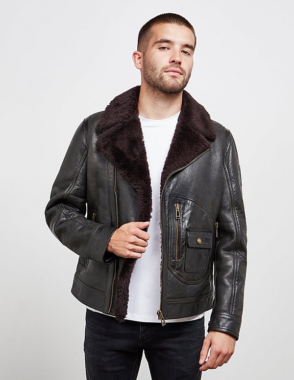 Belstaff Danes Leather Jacket