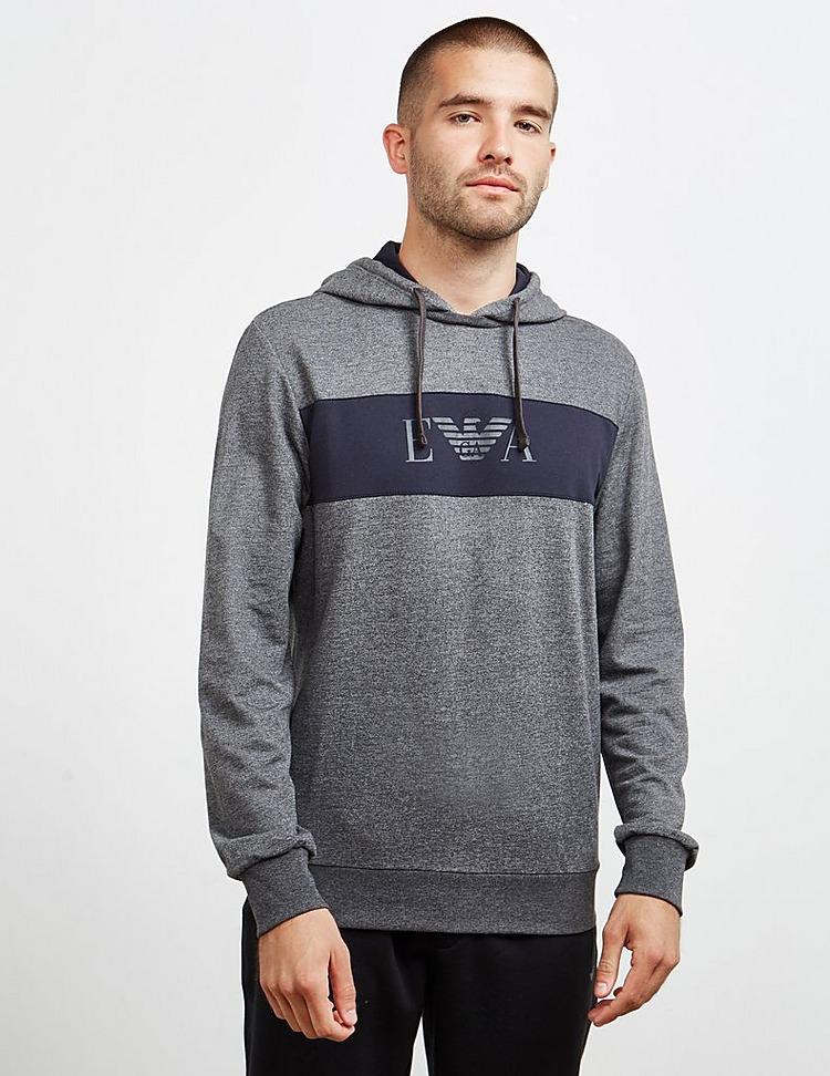 Emporio Armani Loungewear Panel Overhead Hoodie