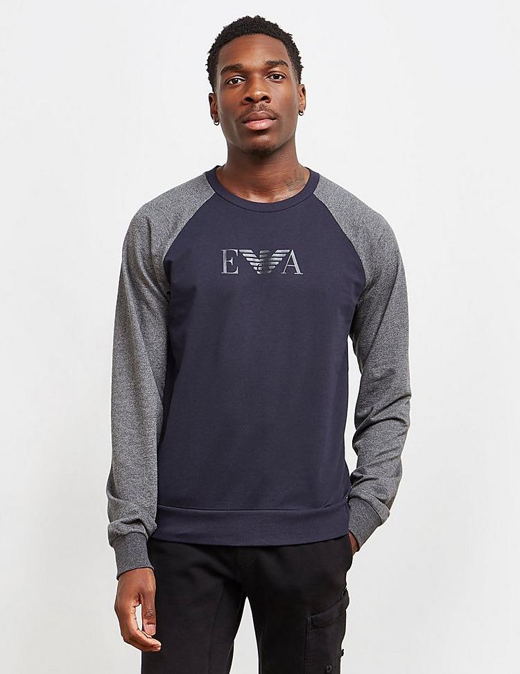Emporio Armani Loungewear Raglan Crew Sweatshirt