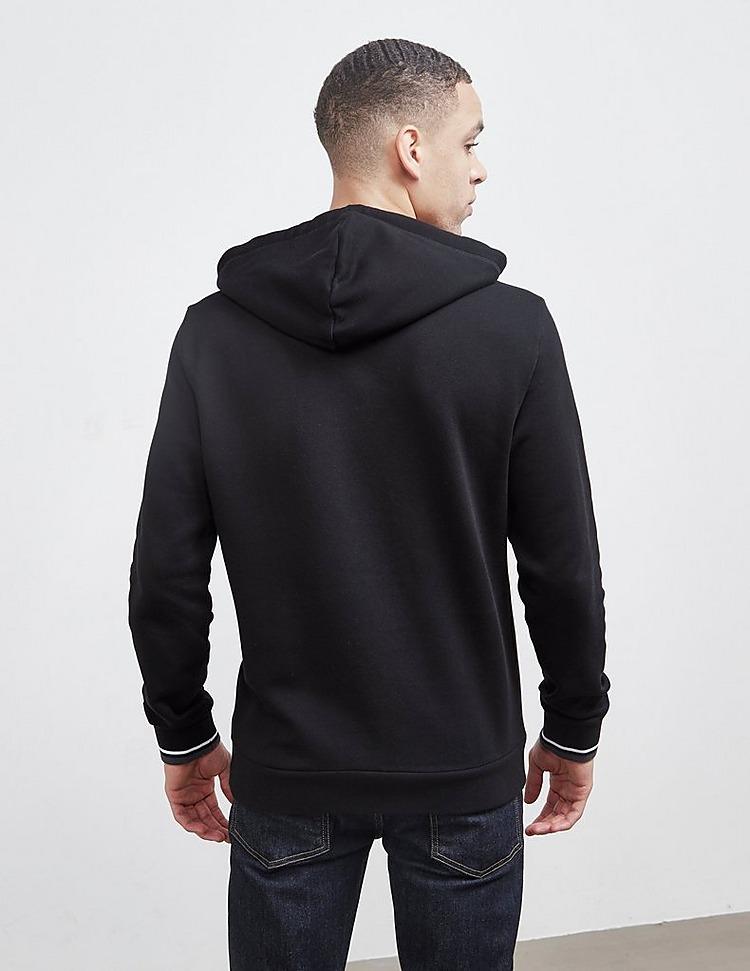 Emporio Armani Loungewear Embroidered Logo Overhead Hoodie