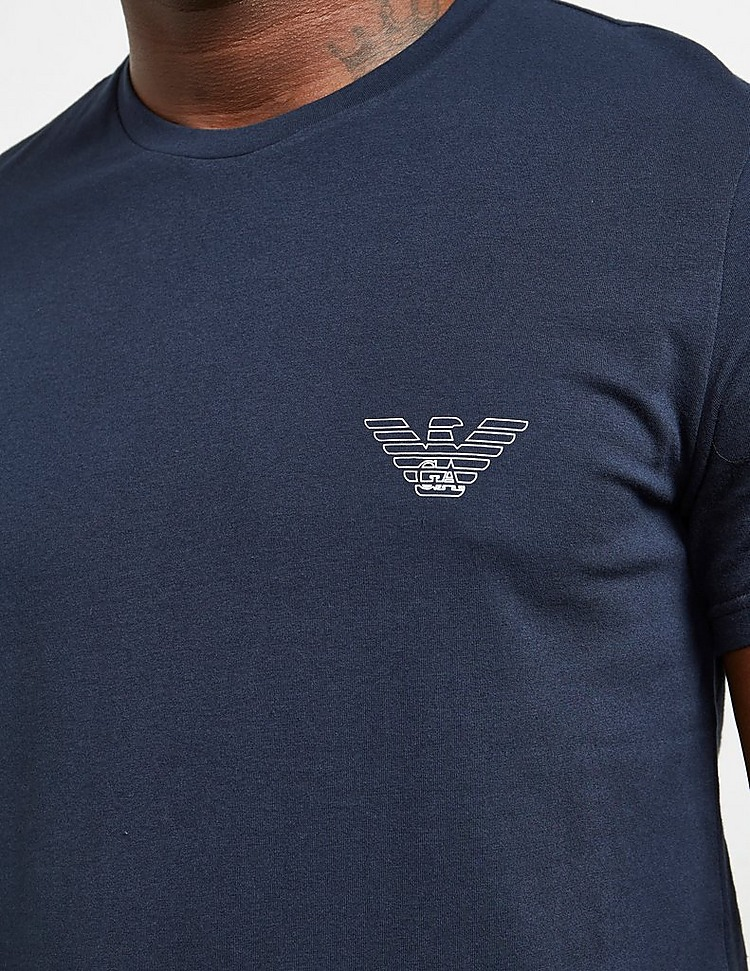 Emporio Armani Small Outline Eagle Short Sleeve T-Shirt