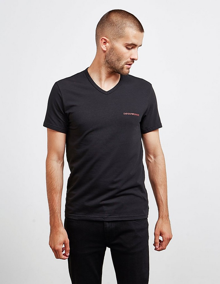 Emporio Armani Loungewear 2-Pack Regular Short Sleeve T-Shirt