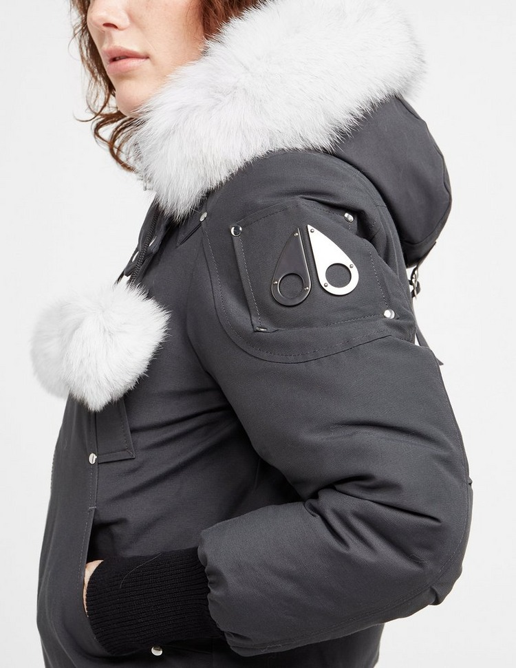 Moose Knuckles Debbie Fur Bomber Jacket