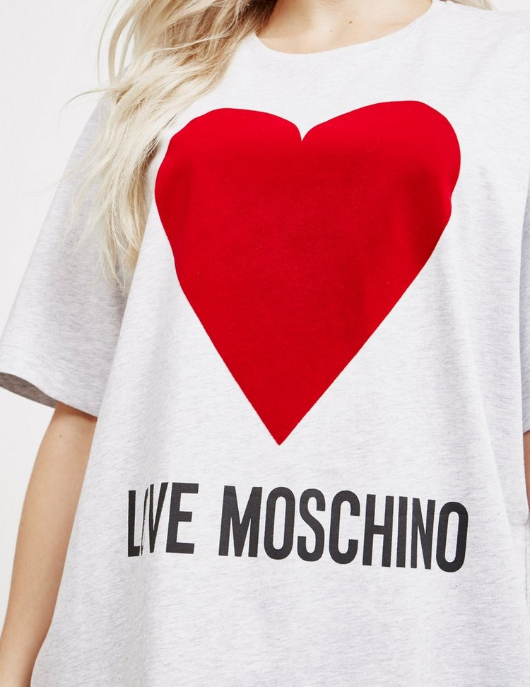 Love Moschino Heart Oversized Short Sleeve T-Shirt