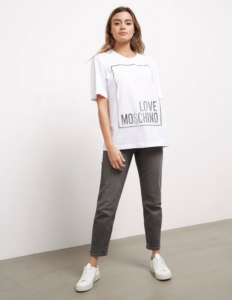 Love Moschino Detail Box Short Sleeve T-Shirt