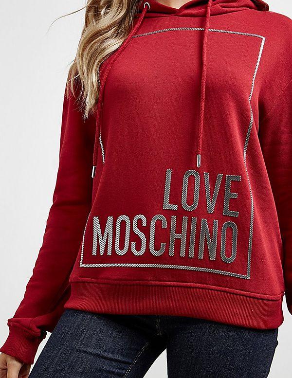 Love Moschino Metallic Box Hoodie