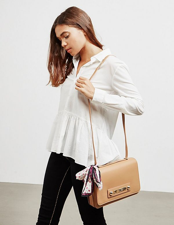 Love Moschino Stud Shoulder Bag
