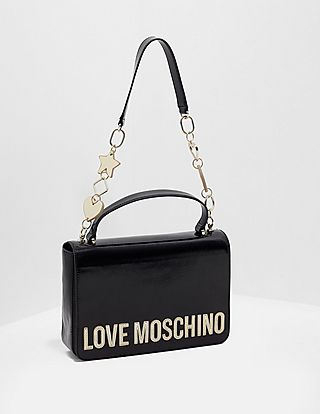 Love Moschino Peace Heart Chain Bag
